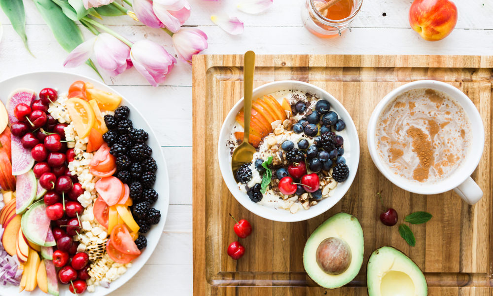 Eat high vibrational food